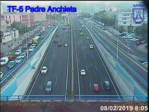 TF5 – Tunnel Padre Anchieta – La Laguna
