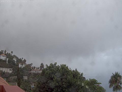Puerto de la Cruz view from La Quinta Park