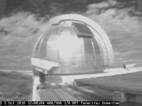 Interior cúpula – Observatorio del Teide