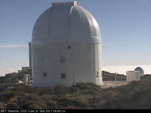 Telescopio de la Agencia Espacial Europea