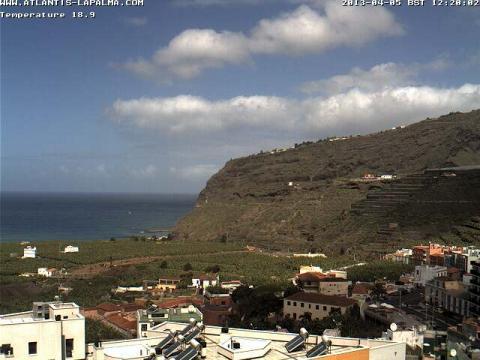 La Palma – Tazacorte view