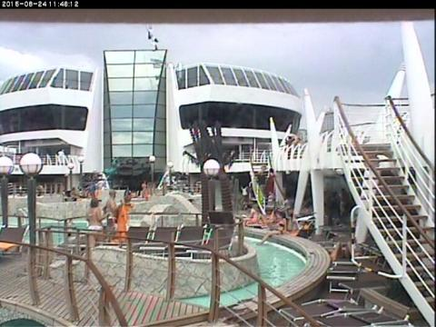 Live from MSC Fantasia cruise