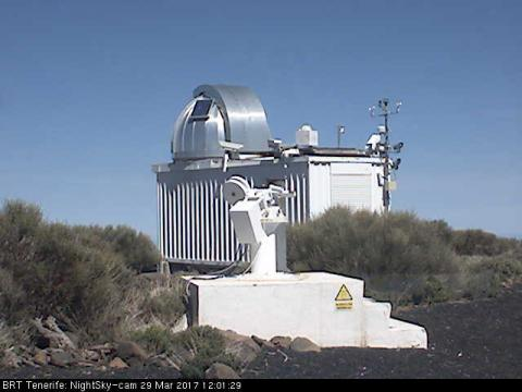 Night Cam Building – Teide observatory