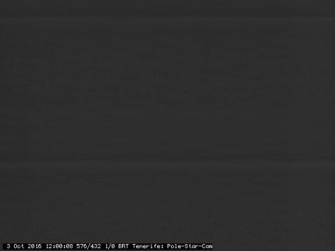 Estrella polar – Observatorio del Teide