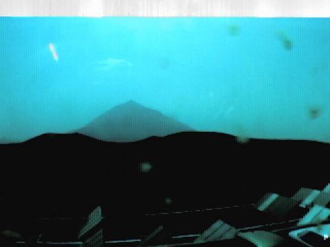 Teide from Izaña observatory
