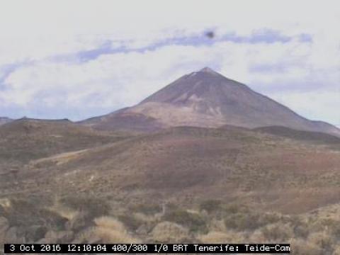 El Teide desde el observatorio