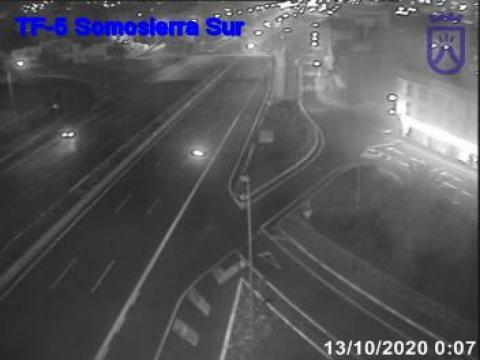 Autovia del Norte TF5 por Somosierra Sur