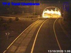 Tunnel d'accès entre les autoroutes TF5 y TF2