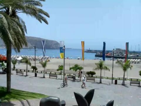 Los Cristianos beach