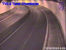 Vue du tunnel de las Chumberas
