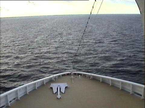 MSC Fantasia deck