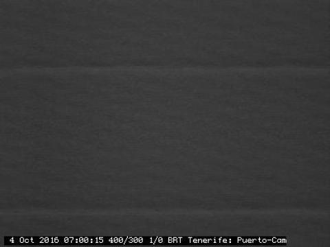 Puerto de la Cruz vue de l'Observatoire du Teide