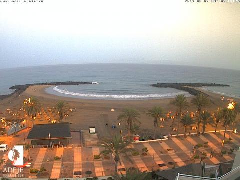 Troya Beach in Playa de las Américas