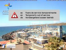 Las Galletas harbour