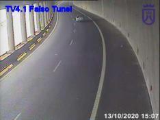 TF4 – Intérieur du faux tunnel