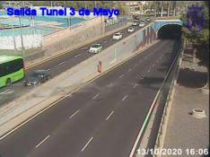 Entrada tunel 3 de Mayo