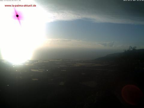 El valle de Aridane desde El Paso – La Palma