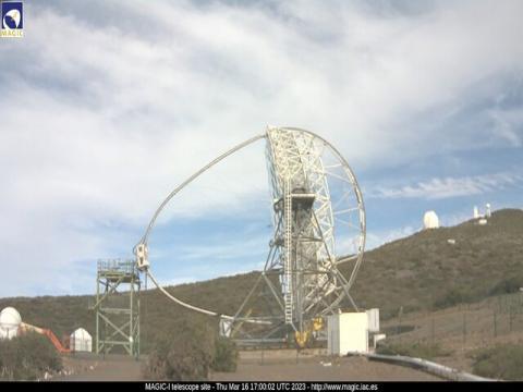 Telescopio Magic – La Palma