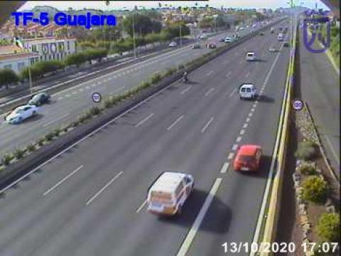 Autoroute TF5 au niveau de Guajara