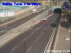 Entrance tunnel 3 de Mayo