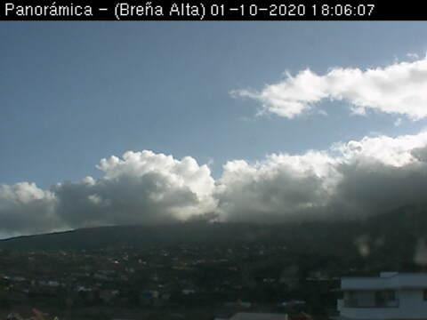 Vue panoramique dès Breña Alta – La Palma