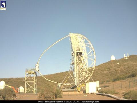 La Palma – Magic Telescope