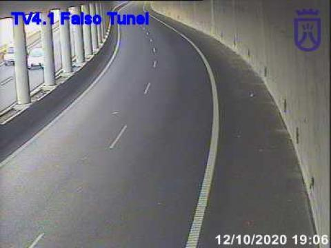 Interior Falso tunel