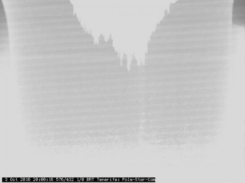 Vista de la estrella polar