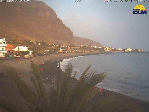 La Gomera – La Calera beach