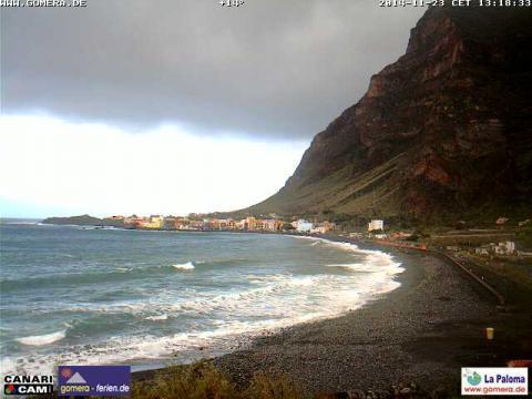 La Gomera – La Paloma beach