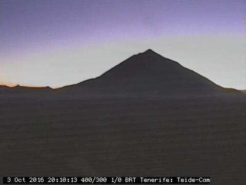 Teide volcano from Tenerife Observatory