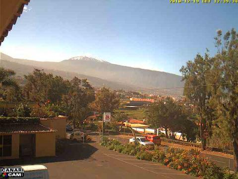 View of Teide and Orotava Valley