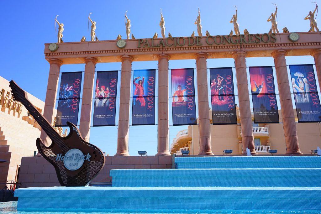 Hard Rock Hotel - Playa Las Americas.
